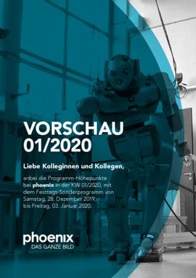 Phoenix Vorschau Fur Kw 01 2020 Phoenix