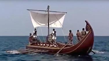 schiff der griechischen sage